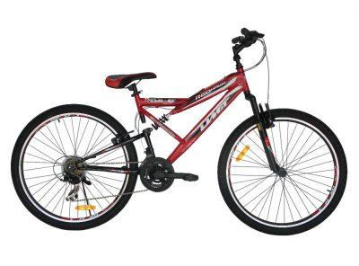 Mountainbike Red Hawk 26 inch MTB Rood-Zwart