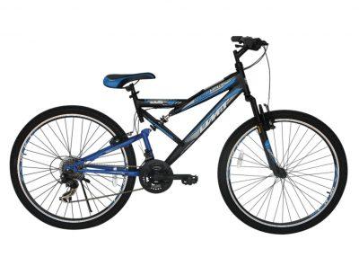 Mountainbike Red Hawk 26 inch MTB Blauw-Zwart