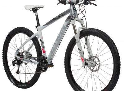 "B'twin MTB Rockrider 560 dames wit 27.5"" L"