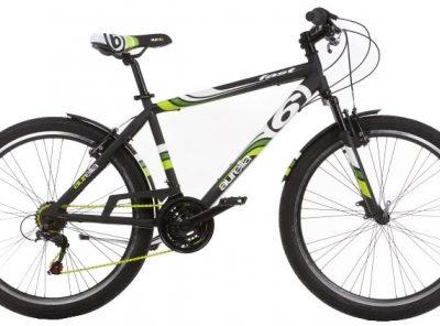 Aurelia - Fast 26 Inch 45 Cm Jongens 21v V-brake Zwart/groen