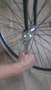 mountainbike assemblage stap 3