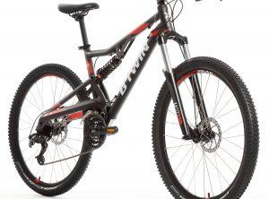 B'twin MTB Rockrider 520 S grijs 27.5 XL
